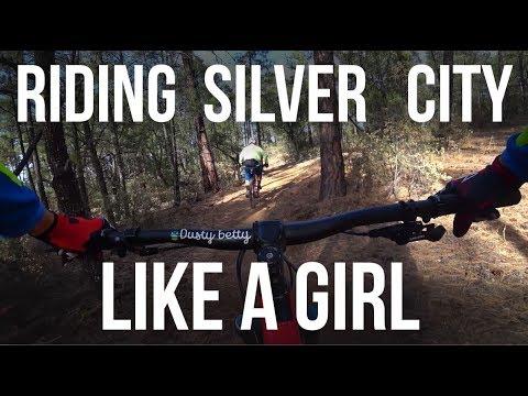 Riding Silver City New Mexico Like a Girl - Dusty Betty Women's Mountain Biking