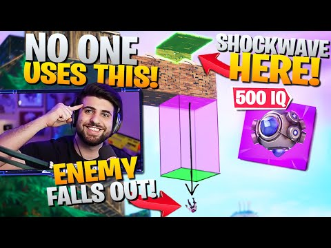 The *500 IQ* Shockwave Trick NO ONE USES! (Try it Next Game!) - Fortnite Battle Royale