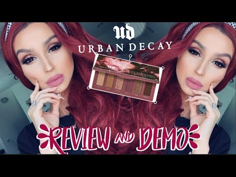 URBAN DECAY APHRODISIAC PALETTE ⎮REVIEW & DEMO TUTORIAL