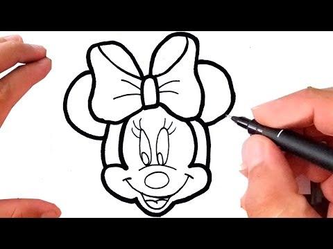 Como Desenhar Minnie Mickey Mouse Youtube