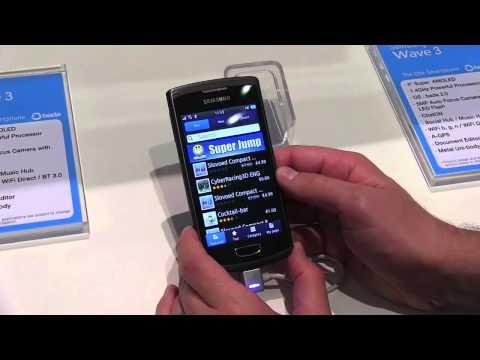 Samsung Wave 3 Hands On!