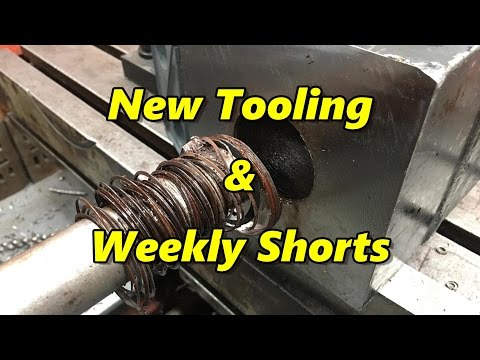 SNS 166: Tools, Viewer Mail, Weekly Short Machining Clips