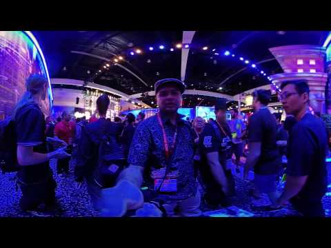 Thumbnail: 4K 3D 360° VR Blogging E3 2017 : day 1 West Hall part 3 : Nintendo to Sony