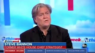 """Bannon Says Trump """"Will Run The Tables"""" In Midterms If He Does't Fold On DACA"""