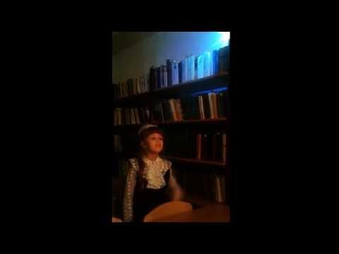 Изображение предпросмотра прочтения – АлисаРахимова читает произведение «Первая звёздочка (Первая звёздочка! око вечернее…)» В.Я.Брюсова
