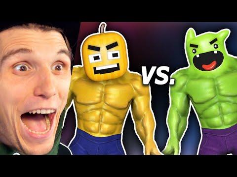 Paluten REAGIERT Der YouTuber Kampf - mit Superkräften!