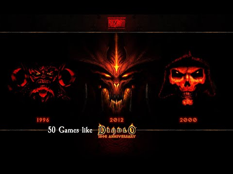 50 Games Like Diablo (all Platforms) AKA Diablo Clon