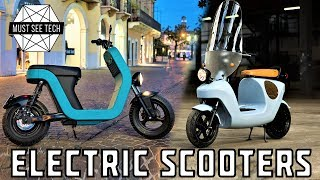 10 new electric scooters on sale in 2018 portable city transport