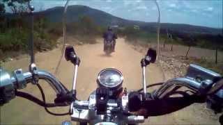 Dafra Horizon 250 - Andando em estrada de terra