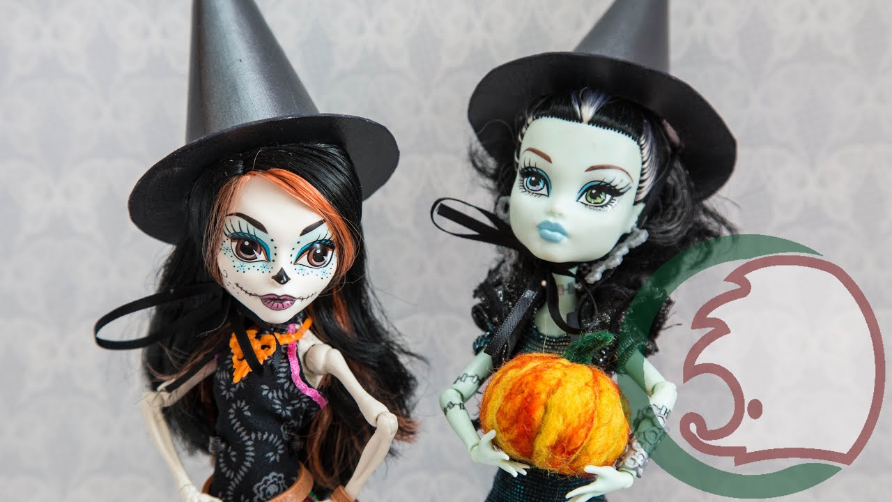 Костюм на Хэллоуин для куклы Monster High «Ведьмочка Тыковка 89
