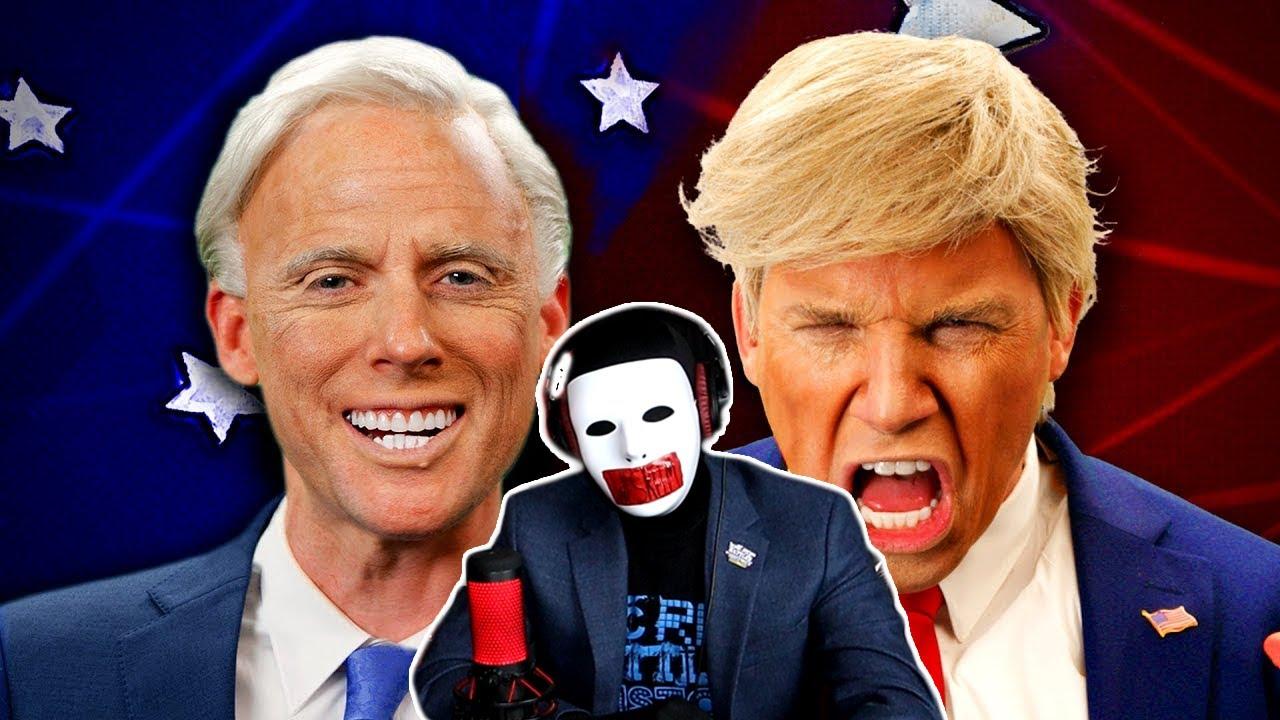 Donald Trump vs Joe Biden. Epic Rap Battles Of History (Reaction)