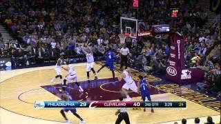 Cleveland cavaliers highlights at philadelphia 76ers (feb. 2, 2015)