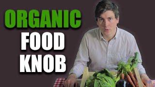 Organic Food Knob - Foil Arms and Hog