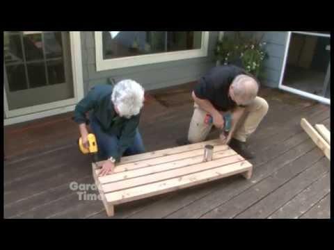 Judy's Potting Bench