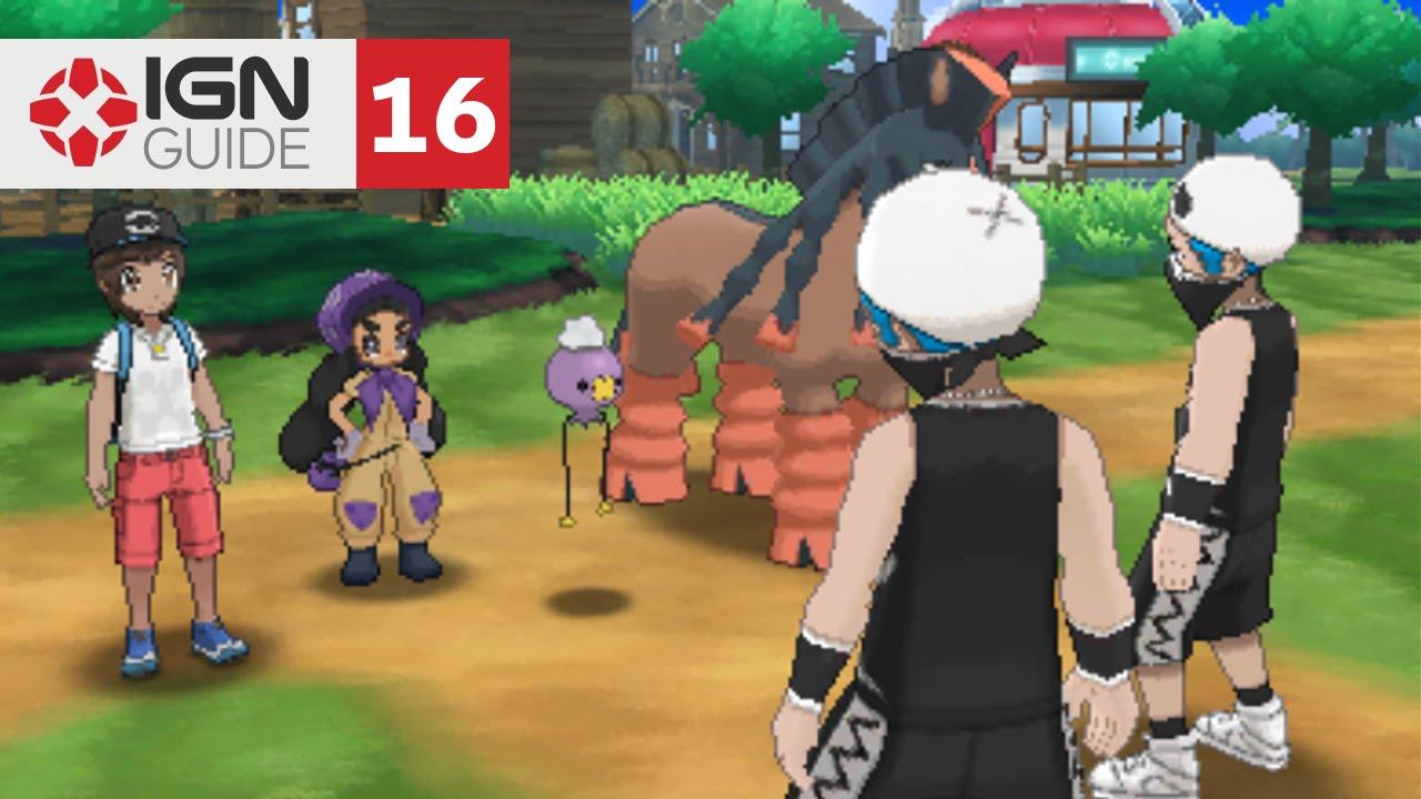Pokemon: Sun and Moon Walkthrough - Route 6