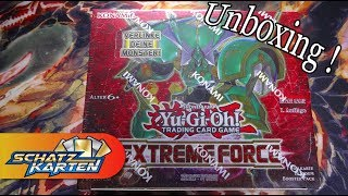 YuGiOh! Extreme Force Display Unboxing *Elektrumit?*