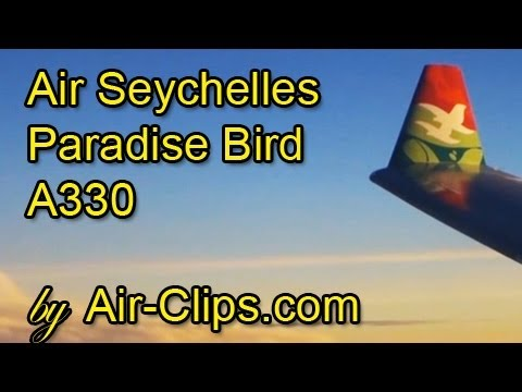 Air Seychelles Airbus A330 paradise bird FULL FLIGHT + all cabins [AirClips full flight series]