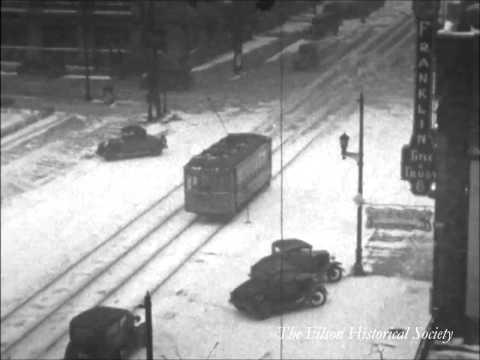 Winter in Downtown Louisville, KY, 1933