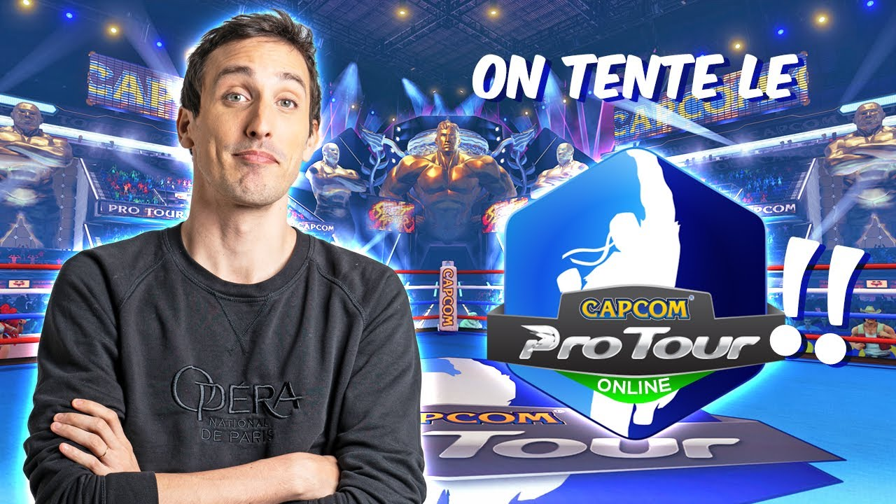 CAPCOM PRO TOUR ONLINE ! ON SE REGALE !