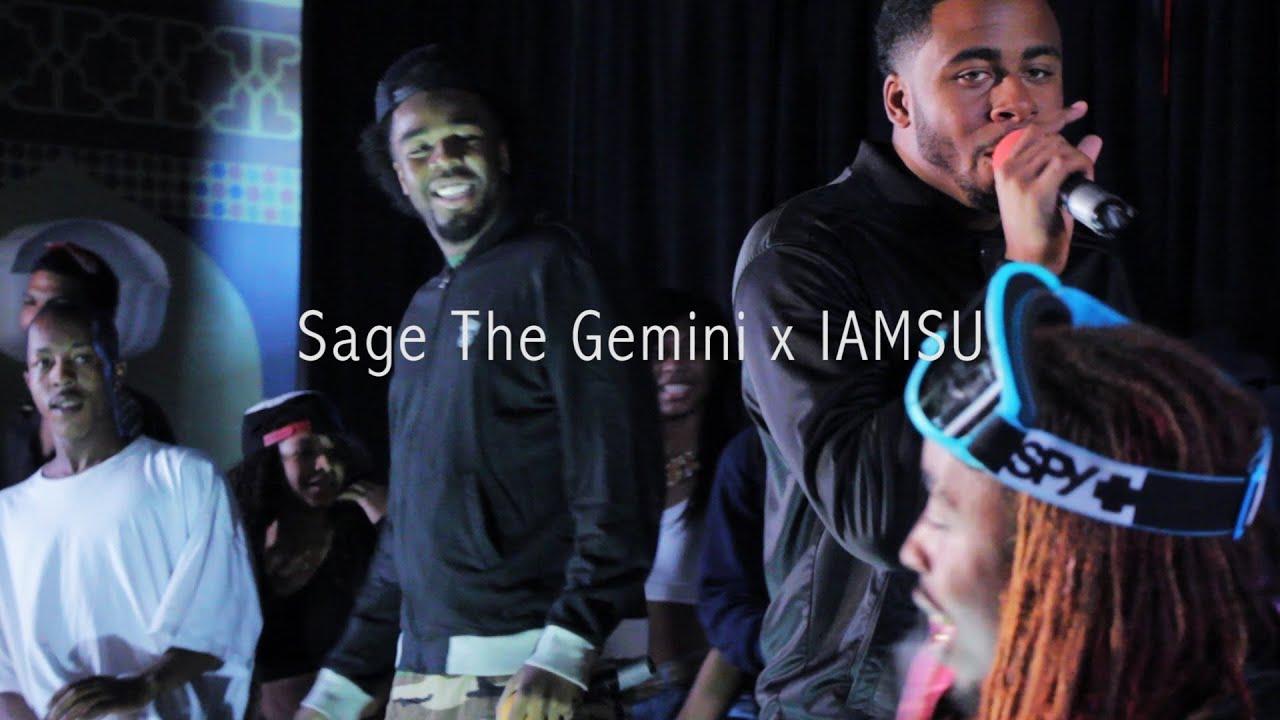 sage the gemini x iamsu gas pedal red nose live 2013