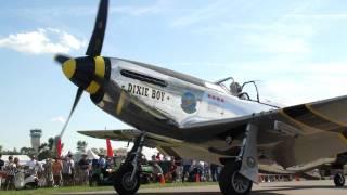 "Elliot Cross ""Dixie Boy"" P-51 Mustang startup"