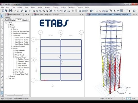 ETABS - 09 Shear Wall Design and Optimization: Watch & Learn