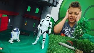 Видео с игрушками СтарВарс. Скайуокер и Йода ищут Р2Д2!