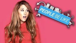 "Ariana Grande ""I Have No Tits"" - People Be Like"