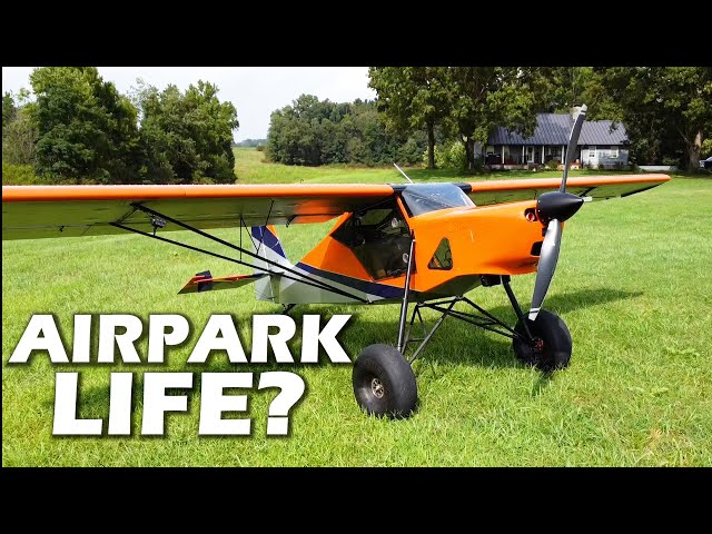 Living with Your AIRPLANE -  Private Vs Airpark Communities