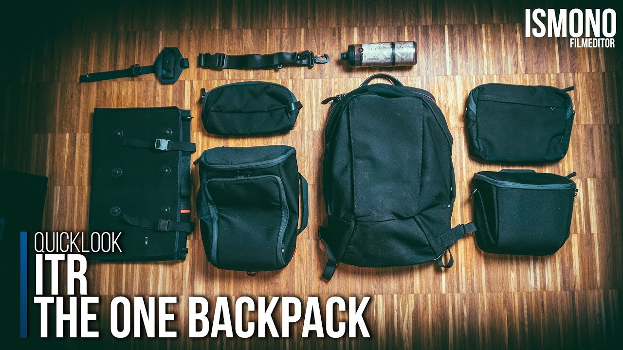 The only bag you ll ever need  ITR One Backpack QUICKLOOK - YouTube e127305574d54