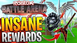 ROBLOX BATTLE ARENA EVENT - EVERY SINGLE REWARD! *SO MANY ITEMS*