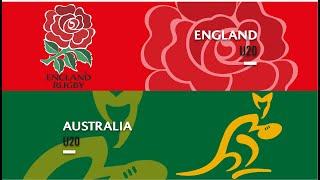 World Rugby U20s 2019 - England v Australia - FULL MATCH