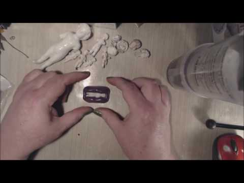 Video 2 of 3 Tutorial: Making Silicone Molds - An everyday crafter's guide: resin embellishments