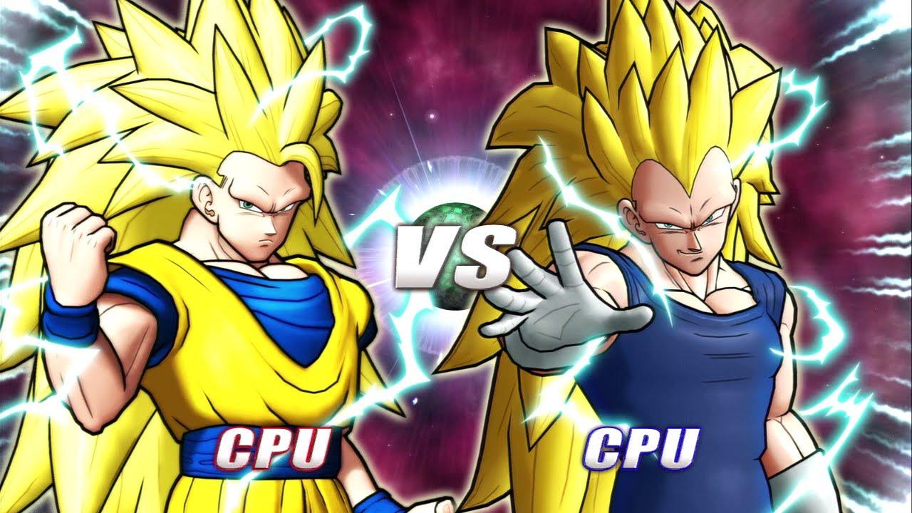 Dragon Ball Raging Blast 2 - Goku Vs. Vegeta - YouTube