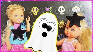 Rodzinka Barbie - Czego boi się Kaja? - Hallowen, pająki i straszne maski - bajki dla dzieci