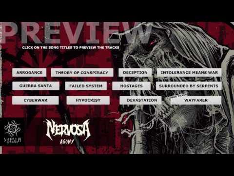 NERVOSA - Agony (Album Preview) | Napalm Records