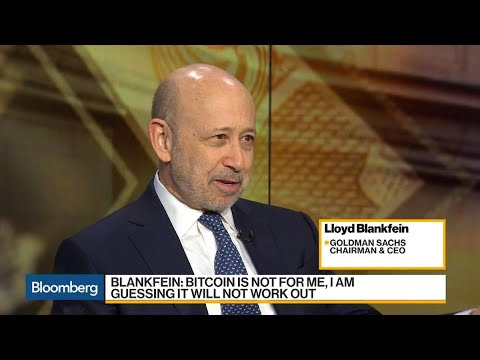 Goldman CEO Says If Bitcoin Works, 'We'll Get To It'