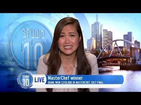 MasterChef Australia Winner 2017, Diana Chan | Studio 10