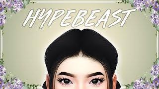 👌 The Sims 4: CAS & Speed Edit // HYPEBEAST + Full CC List 👌