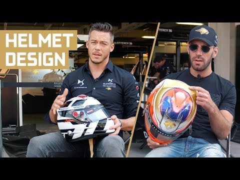 2019 Helmet Designs | Jean-Éric Vergne & André Lotterer talk through their season 5 helmets