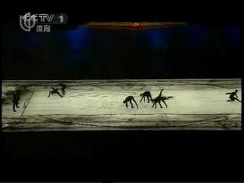olimpics opening dancing  beijing 2008