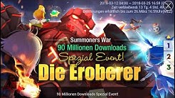 "90mio Download-Event ""Die Eroberer"" 🍀 SUMMONERS WAR"