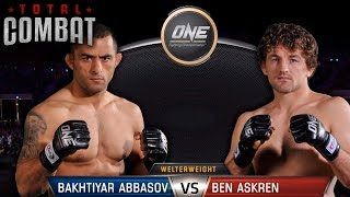 Total Combat | Bakhtiyar Abbasov vs Ben Askren | Full Fight Replay