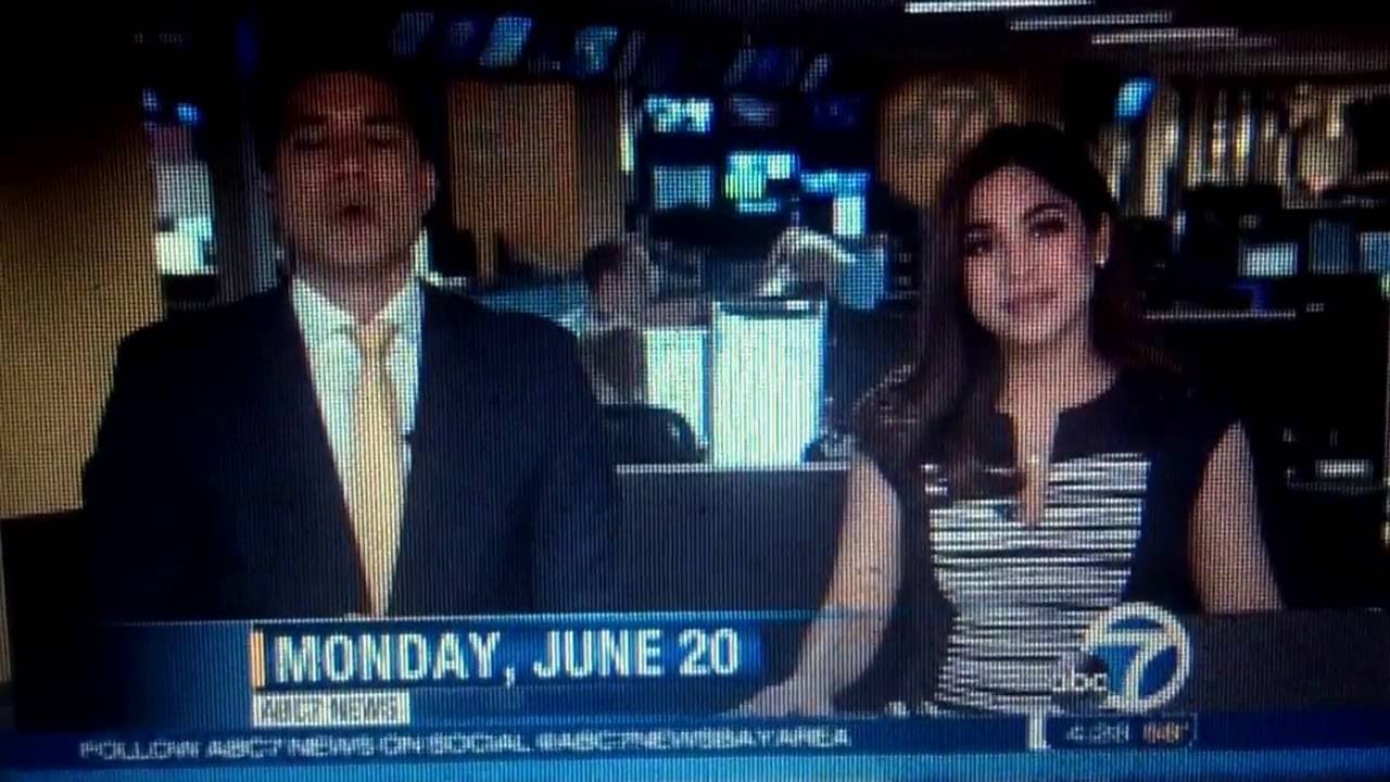 KGO ABC 7 News this Morning at 4:30am open June 20, 2016
