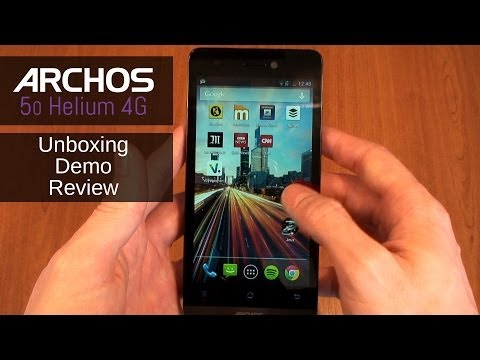 Archos 50 Helium 4G - Unboxing, Review and Demo
