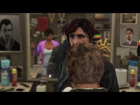 Alex beim Friseur