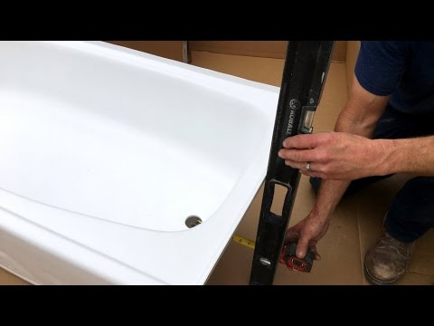 Step by Steps Guides for Installing Plastic Bathtub
