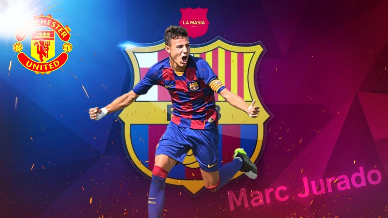 Marc Jurado - The Barcelona 16-year-old about to join Manchester ...