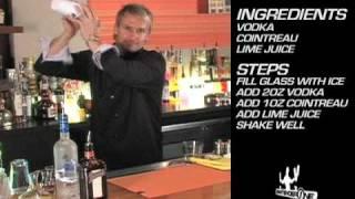 Kamikaze Cocktail Recipe - Bartenderone Toronto Bartending School