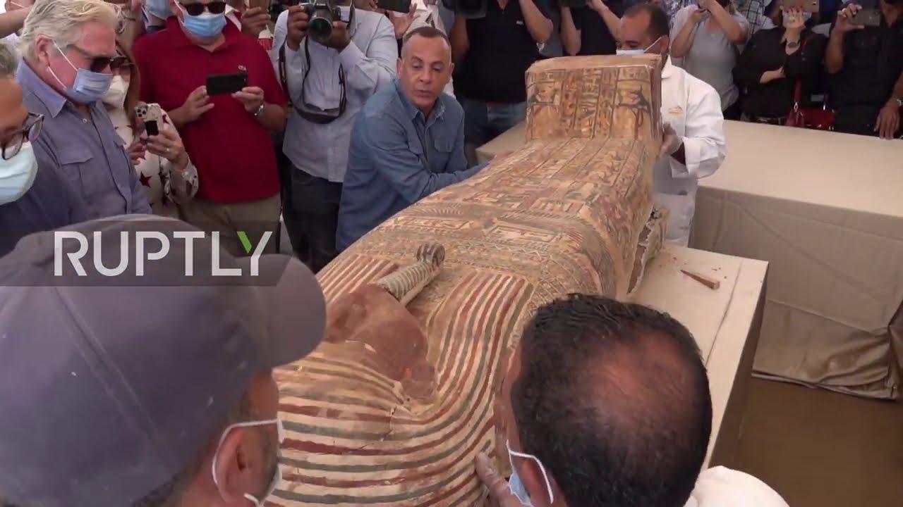 Egypt: 2,500 y/o mummy in